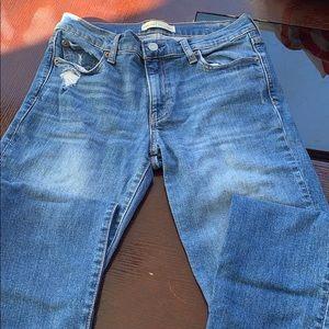 Gap 1969 real straight denim jeans